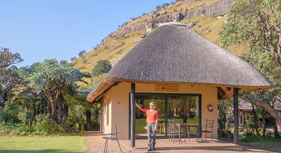 Drakensberg Self Catering Chalet Garden View Accommodation Giants Castle Camp Giants Castle Game Reserve KwaZulu-Natal