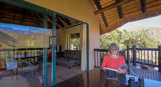 Drakensberg Self Catering Chalet Accommodation Giants Castle Camp Giants Castle Game Reserve KwaZulu-Natal
